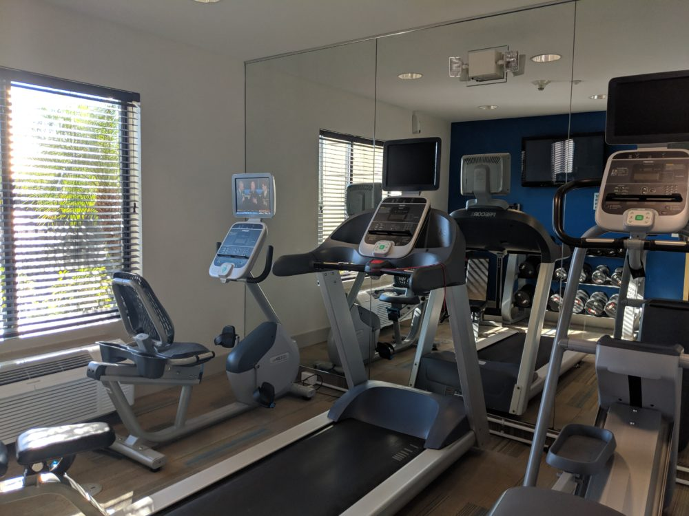 Holiday Inn Express & Suites Tampa USF Busch Gardens, Tampa has fitness room for guests