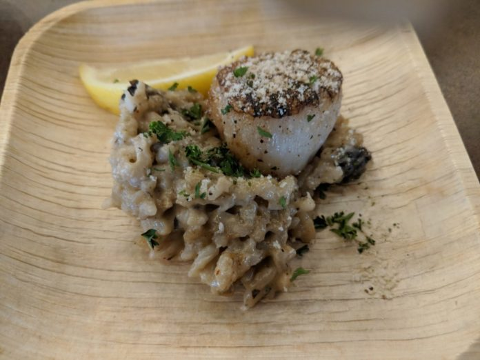 The Sea Scallop Provencal is one of our favorite menu items at Seven Seas Food Festival in Orlando, Florida.