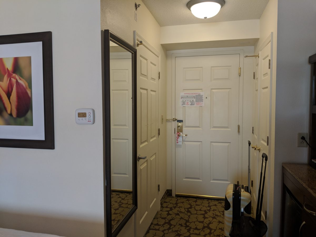 Beautiful guest rooms are a reason to stay at Hilton Garden Inn Orlando SeaWorld