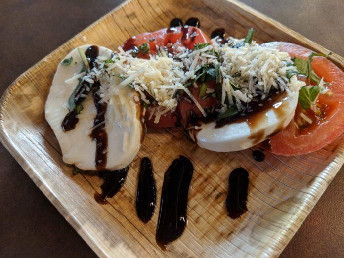 Why we love the Caprese Salad at SeaWorld Orlando's Seven Seas Food Festival in Florida.