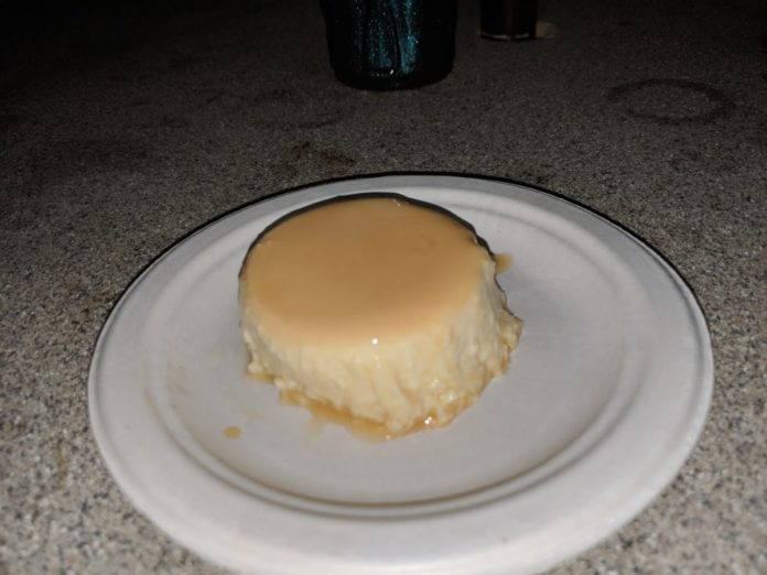 Why we love the Coconut Flan at Seven Seas Food Festival in Orlando, Florida.