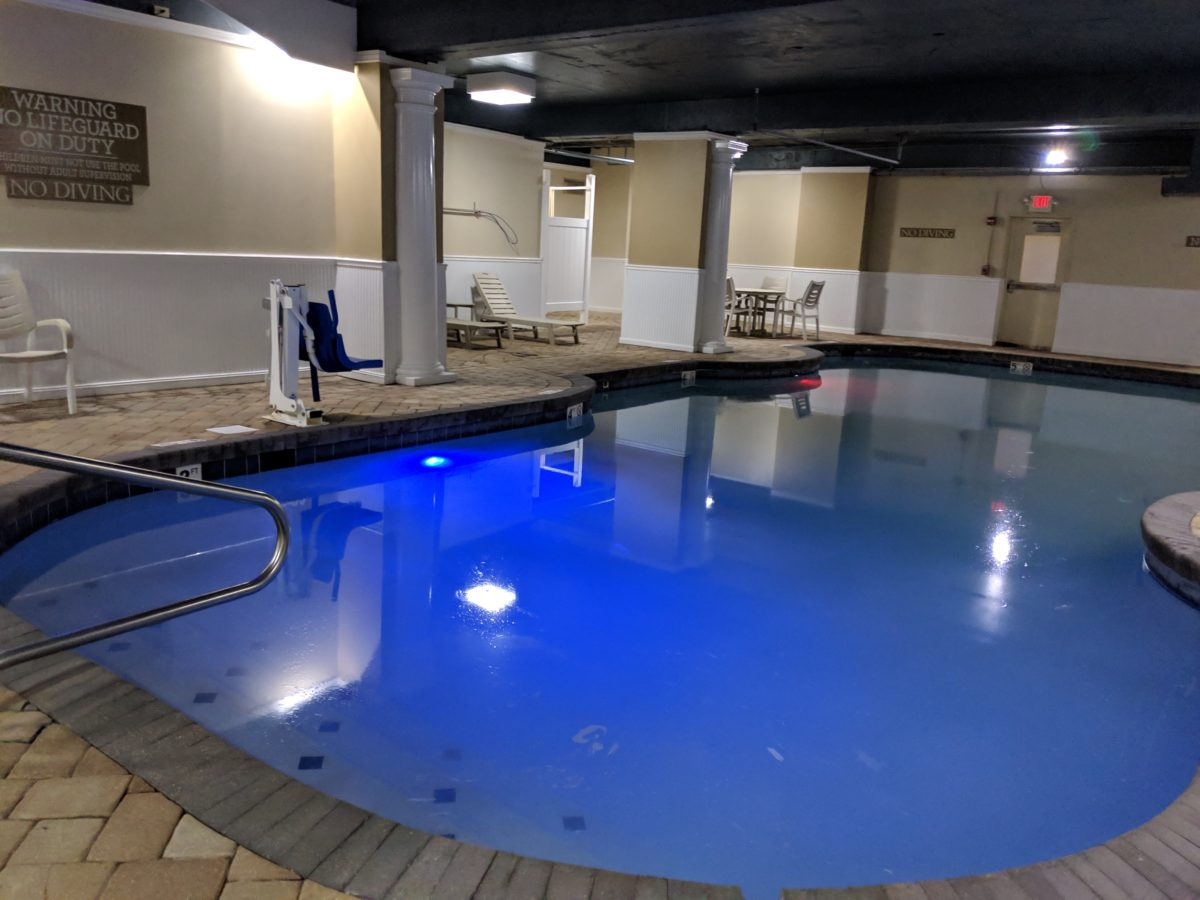 Oceanfront affordable Virginia Beach hotel with an indoor pool