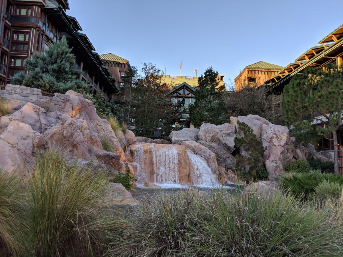 Wilderness Lodge has amazing theming at Walt Disney World in Florida