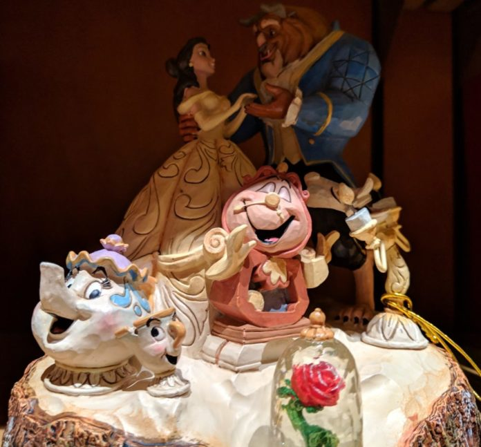 Disney's Beauty & the Beast home decorations