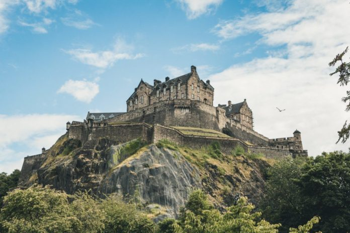 Get discounted return train from London to Edinburgh, Castle admission & bus tour of Edinburgh, Scotland.