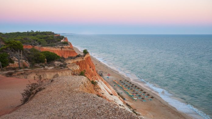 Best Falesia Beach hotels in Algarve, Portugal