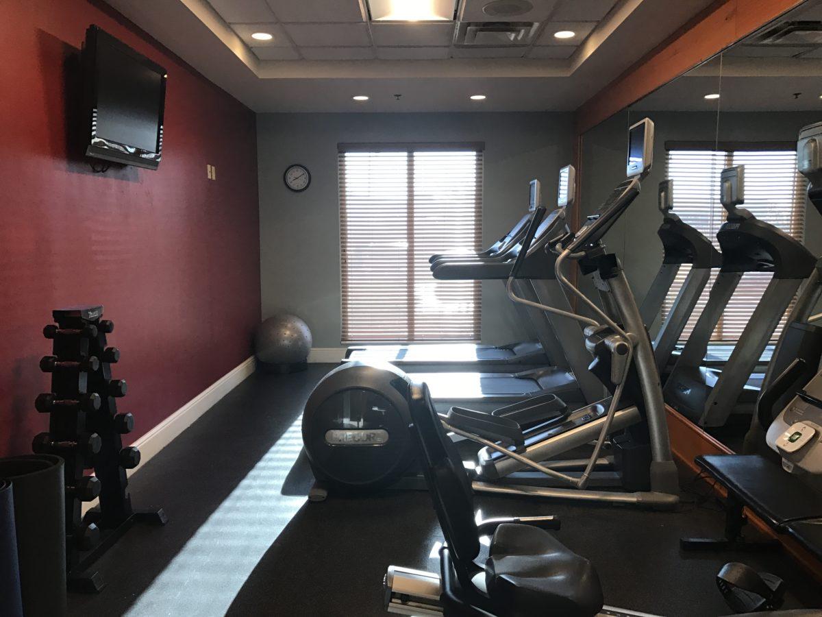 Fitness center available at Hilton Garden Inn Orlando at SeaWorld
