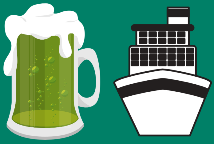 Save on St. Paddy's Green Electric Yacht Party in Boston