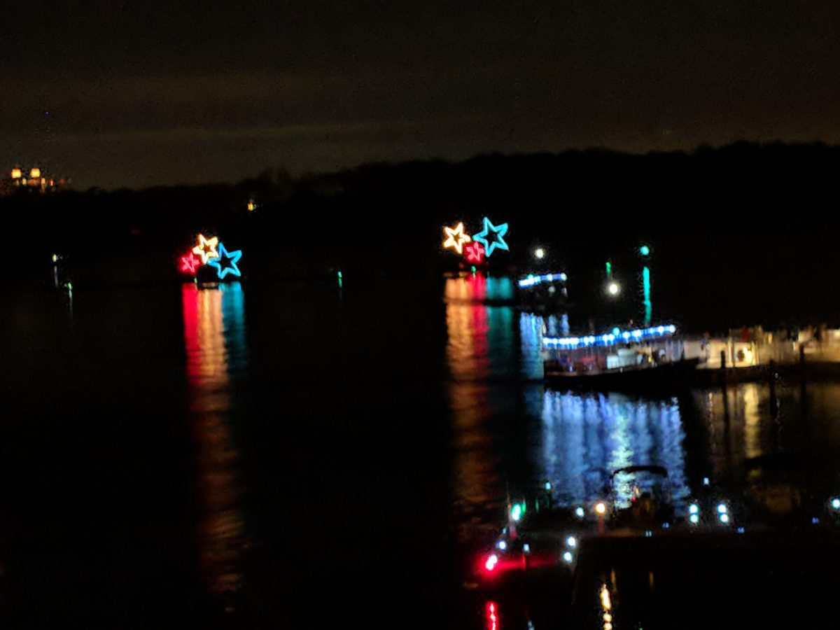 When you stay at Bay Lake Tower at Disney World make sure you watch the Electrical Water Pageant