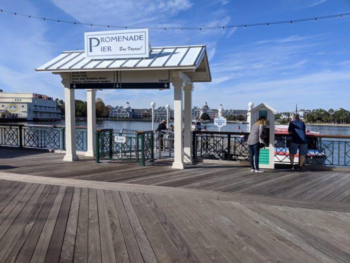 Disney's Boardwalk Resort has boat transportation to EPCOT & Hollywood Studios