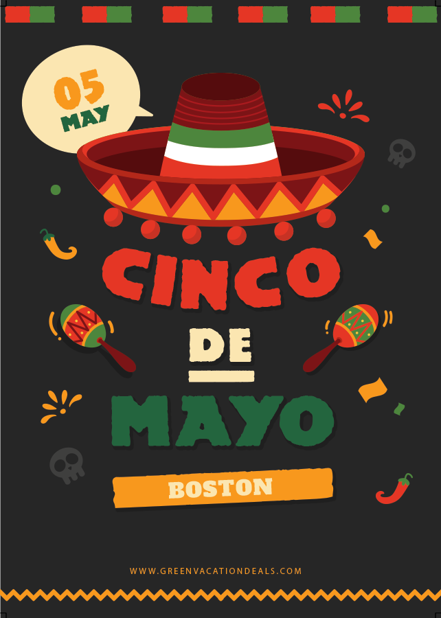 Enjoy discounted tickets to a Boston Cinco de Mayo party with drink specials