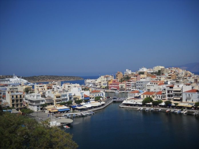 A picture of Agios Nikolaos in Greece. Find out great budget travel tips on how to get low prices for hotels there