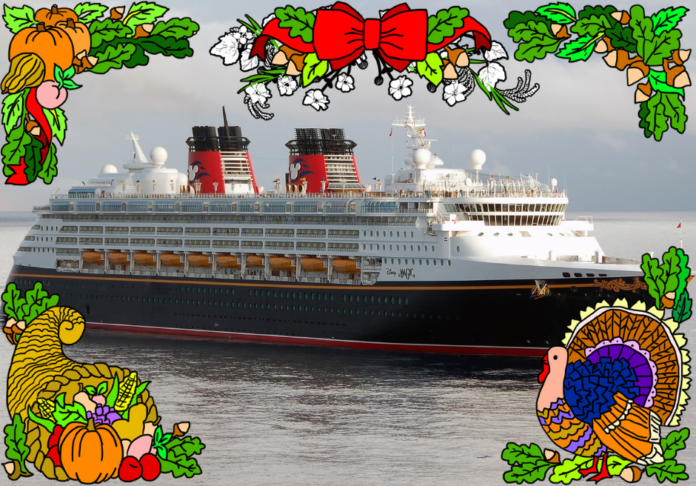 7 reasons why a Disney family cruise vacation would be great during Thanksgiving
