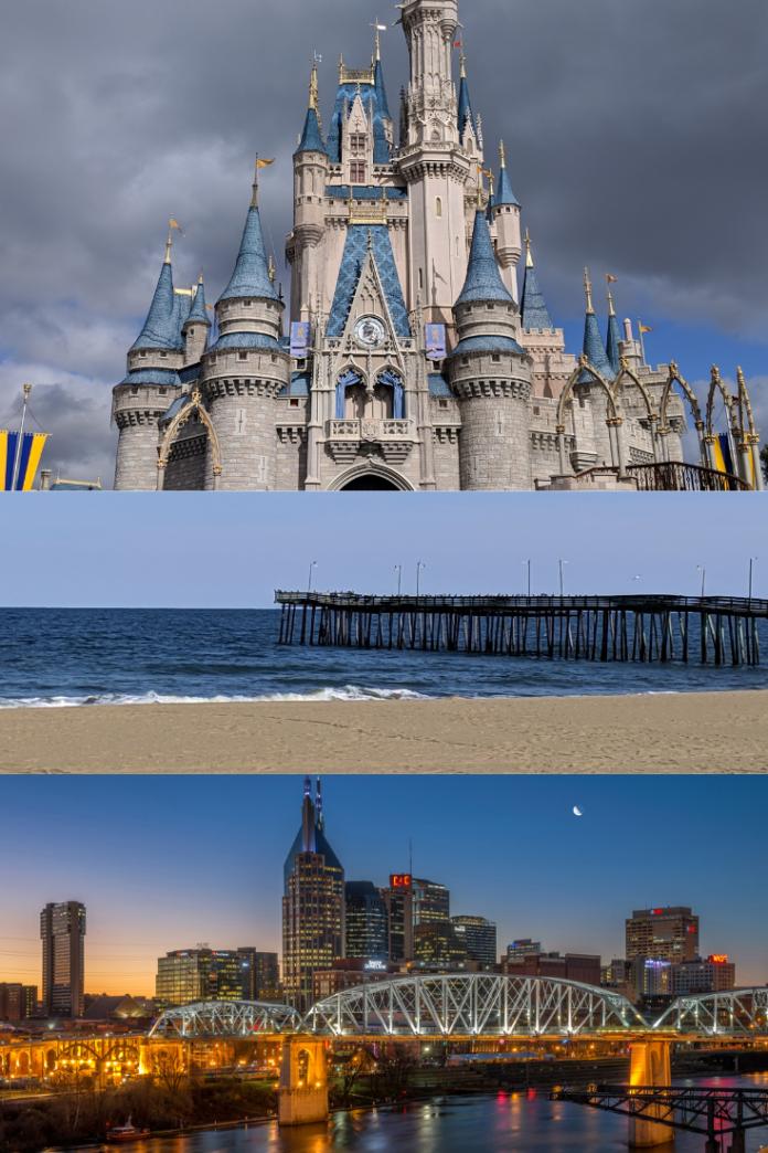 Discounted hotel rates for Tampa, Orlando, Miami, Virginia Beach, Nashville, Gatlinburg, etc.