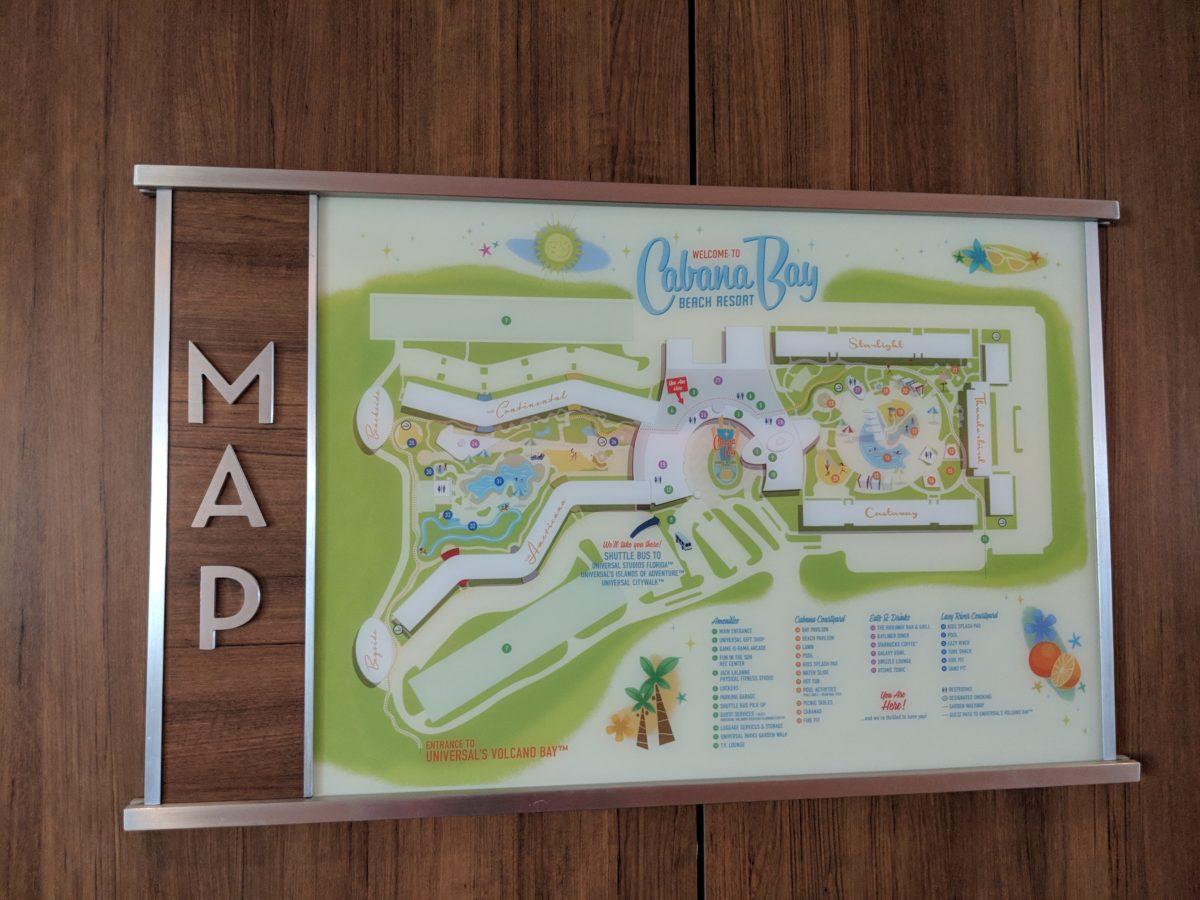 Universal Orlando's Cabana Bay Beach Resort has 5 different buildings