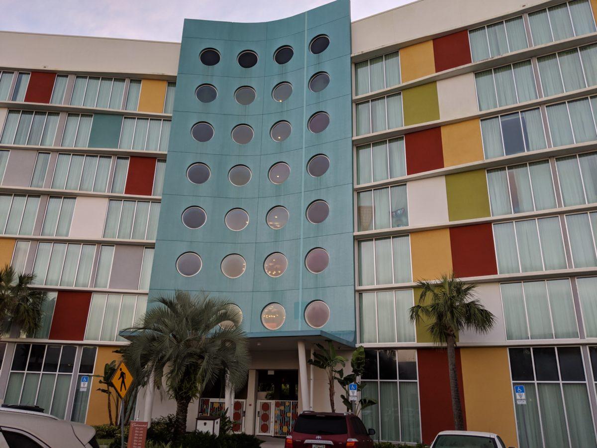 A picture of Cabana Bay Beach Resort at Universal Orlando Florida resort