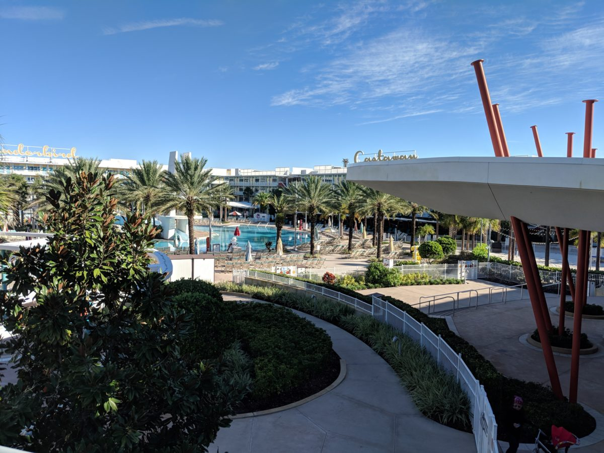 Universal Orlando's Cabana Bay has great amenities for customers like a pool & lazy river