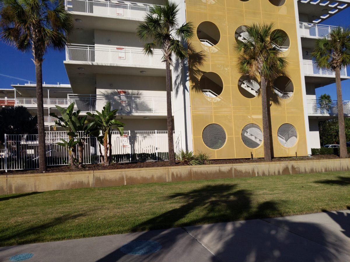Universal's Cabana Bay Beach Resort has a great retro theme