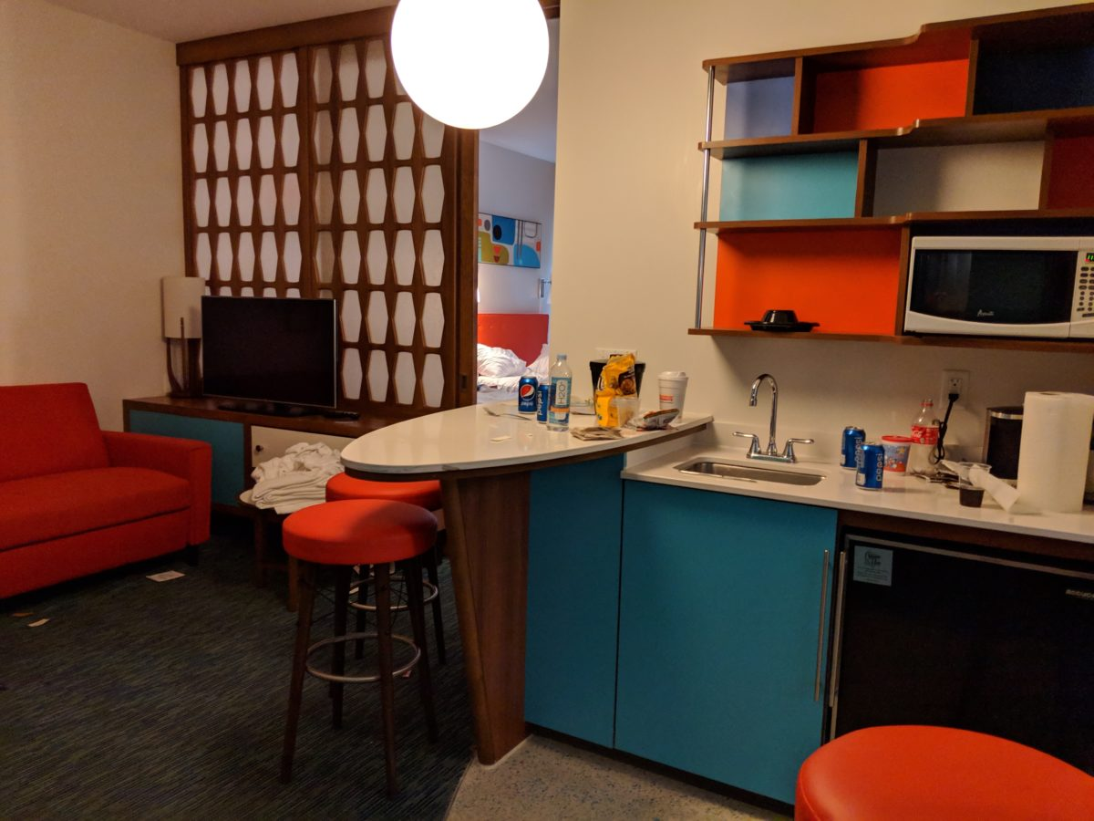 Suites can accommodate big families on a Universal Orlando vacation at Cabana Bay Beach Resort