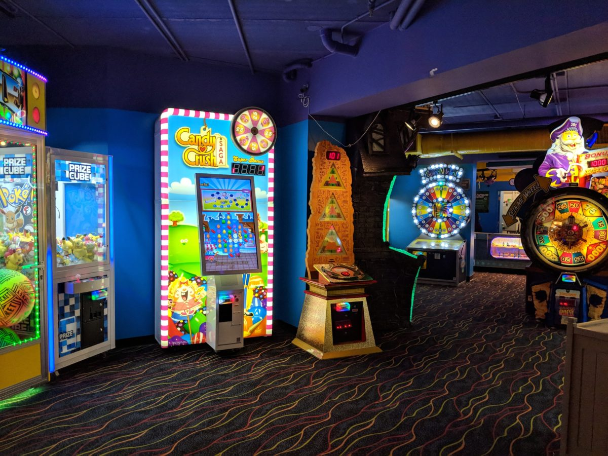 The arcade is one of the reasons my family loves staying at Castaway Bay at Cedar Point in Sandusky, Ohio.