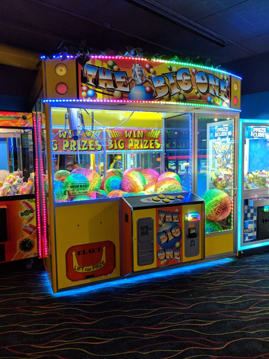 You & your children will enjoy the arcade next to the water park at Castaway Bay hotel at Cedar Point in sandusky