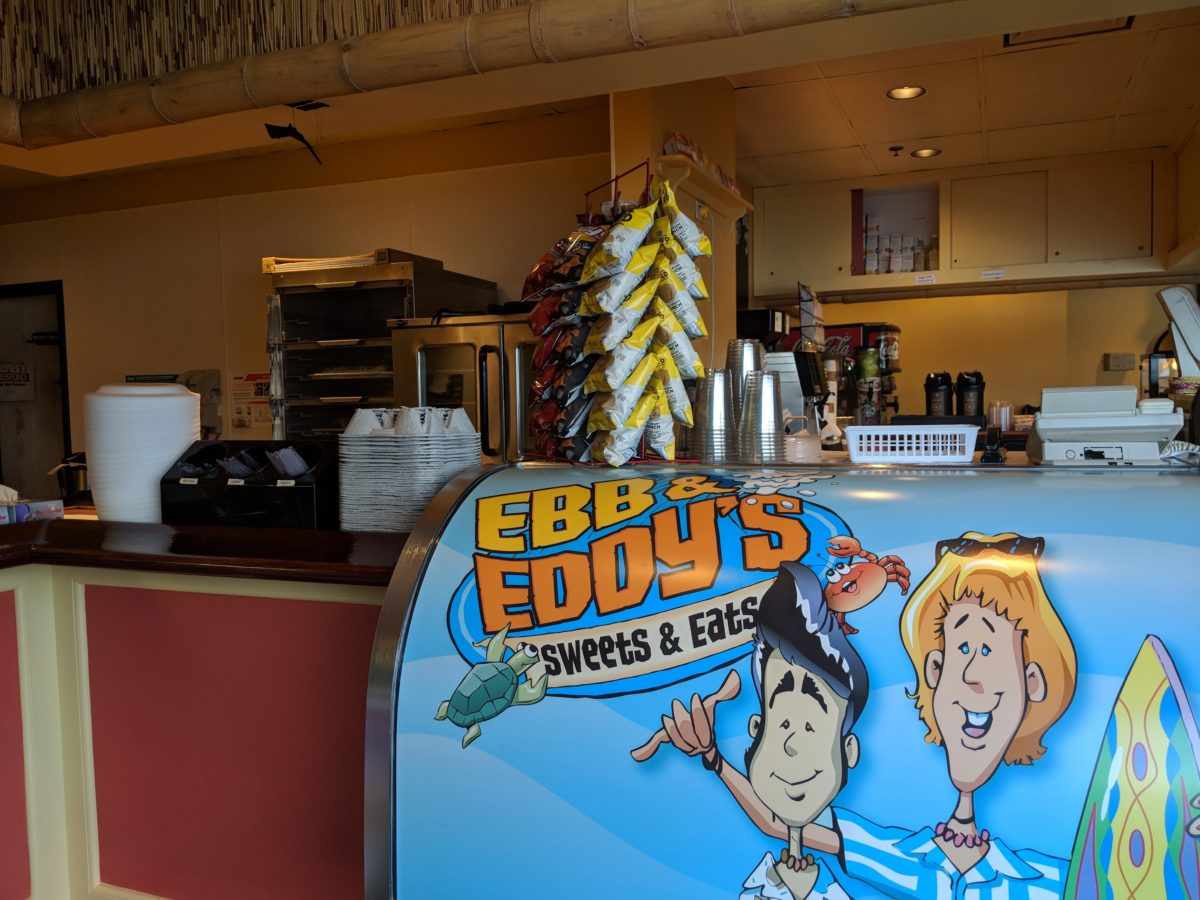 Enjoy light snacks or desserts after a day at Cedar Point theme park at Castaway Bay in Sandusky Ohio