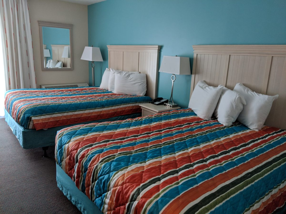 The comfortable beds are a reason why my family loves staying at Castaway Bay part of Cedar Point Resort in Sandusky OH