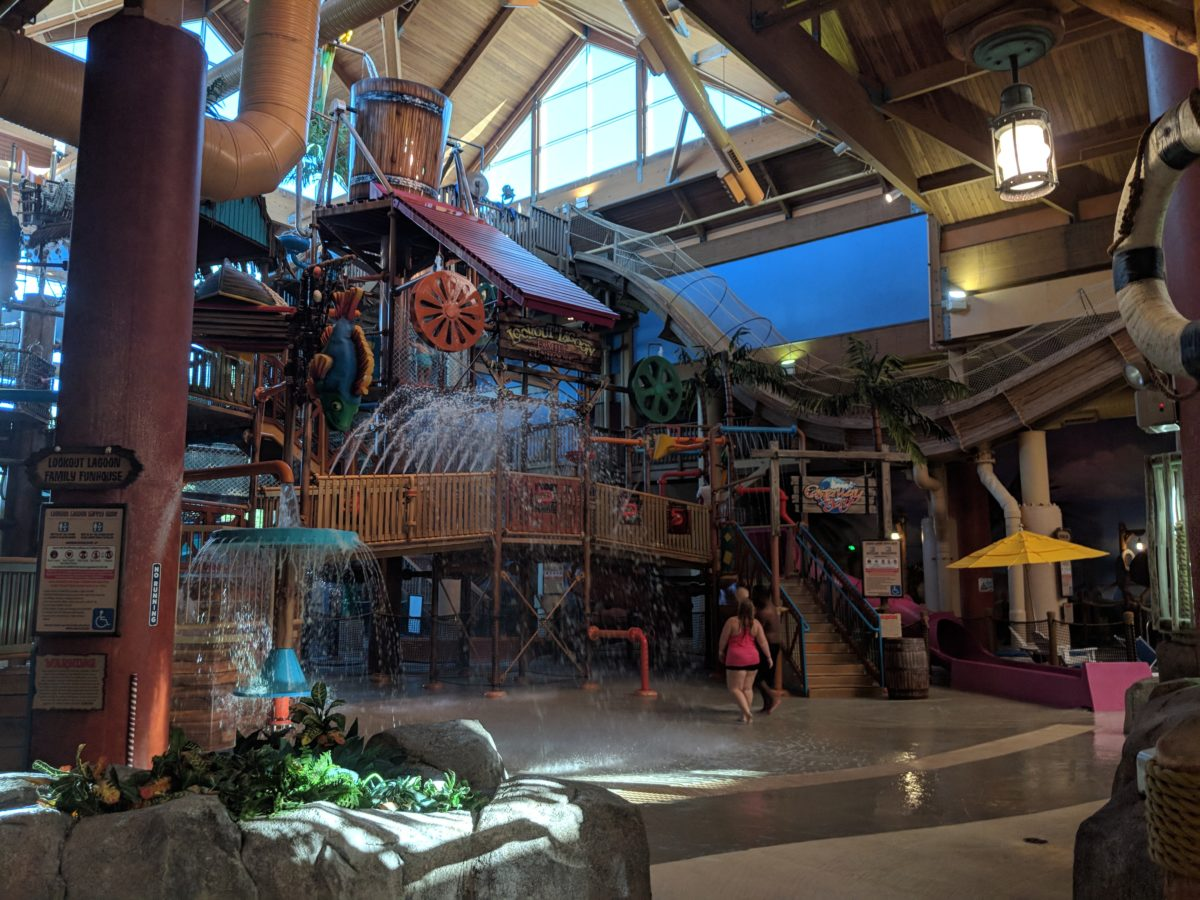 All ages can enjoy the water park at Castaway Bay Resort in Sandusky Ohio