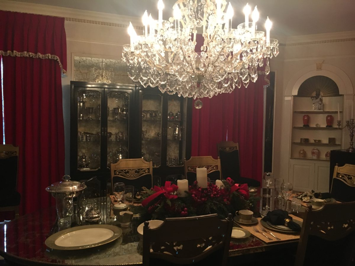 Discount price for Graceland at Memphis Tennessee, where you can see Elvis's dining room