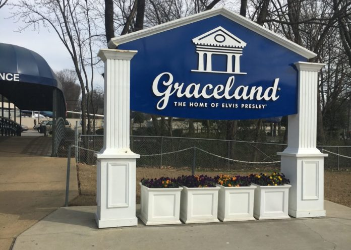 A picture of outside Graceland & how you can save money on tickets