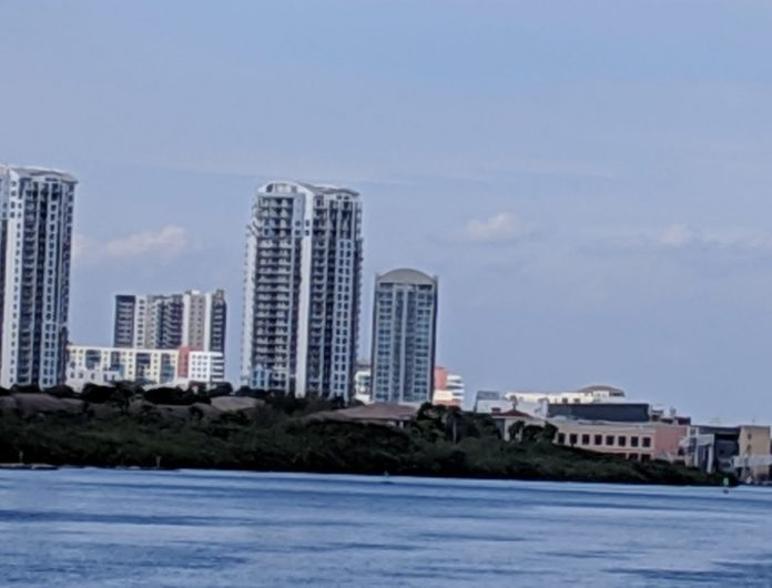 A picture of Tampa, Florida. Save money on a vacation there by booking hotel along with a flight from Philadelphia