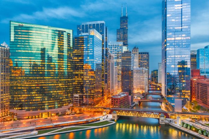 A picture of Chicago, Illinois, USA. Find out how to win a free trip for 4 here