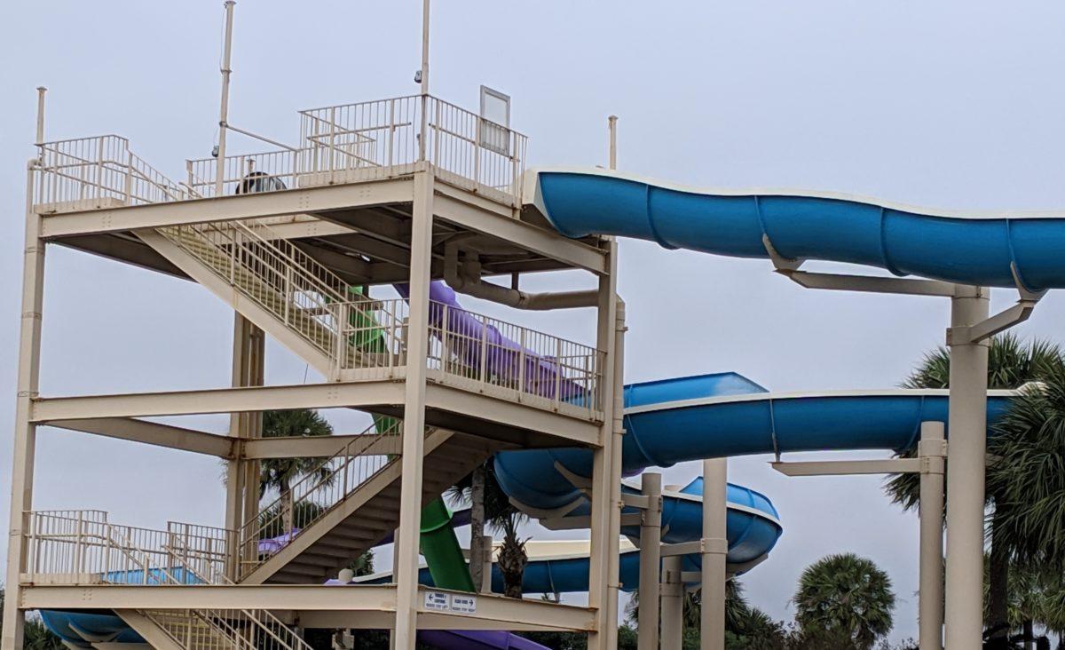 Enjoy slides, pools, and raft rides at Summer Waves a Jekyll Island Georgia family fun spot