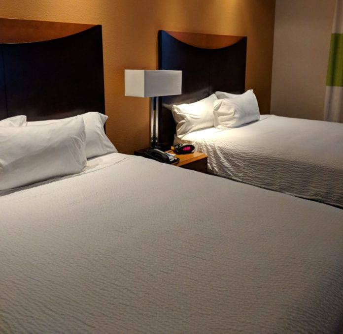 How to win a free hotel stay at a Fairfield Inn by Marriott worldwide