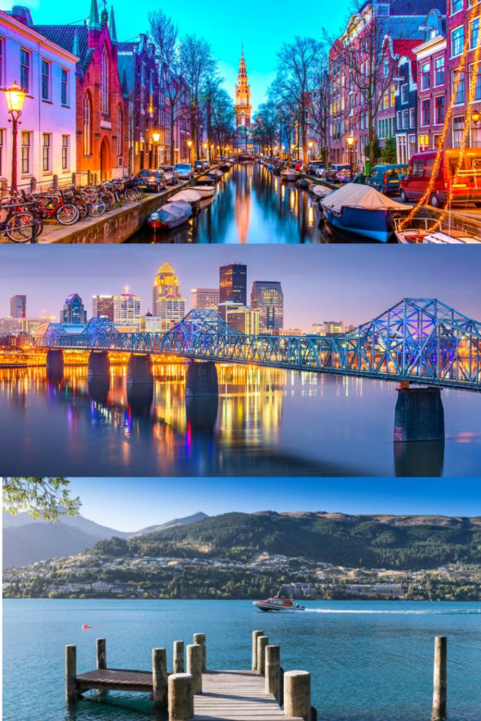 Win a free trip to Queenstown, New Zealand, Louisville, Kentucky or Amsterdam, Netherlands