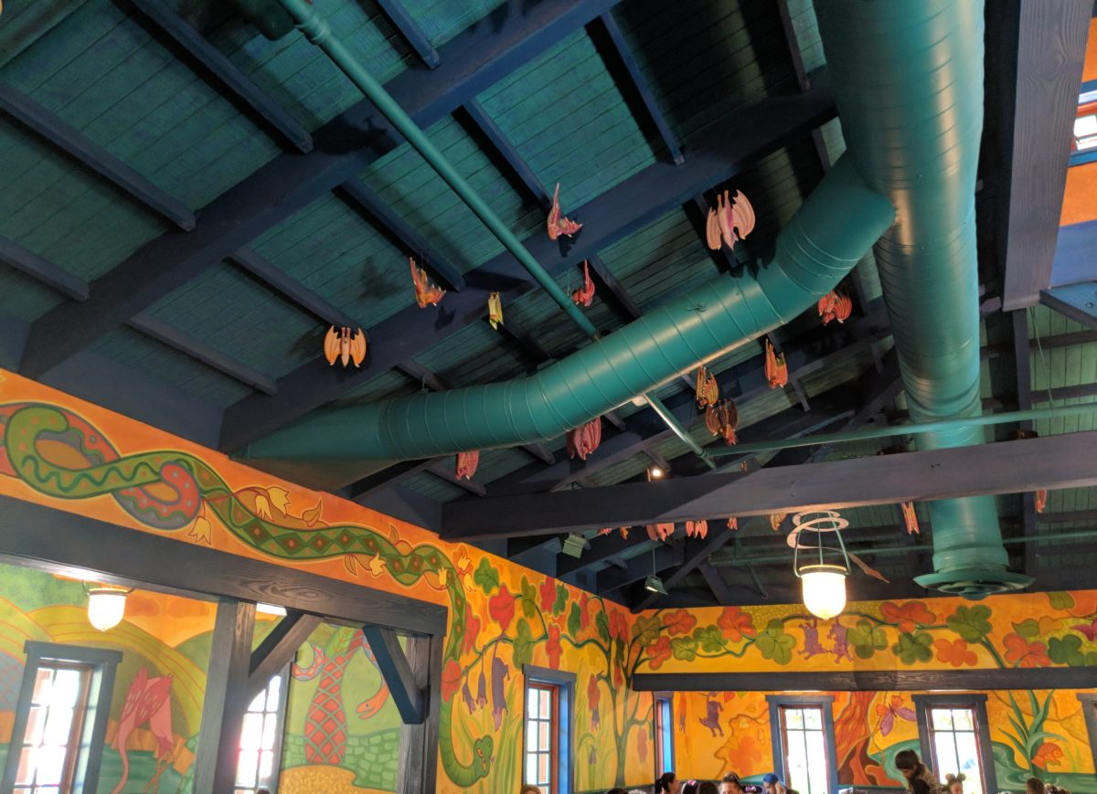 We tell you which restaurants have indoor seating at Animal Kingdom at Disney World