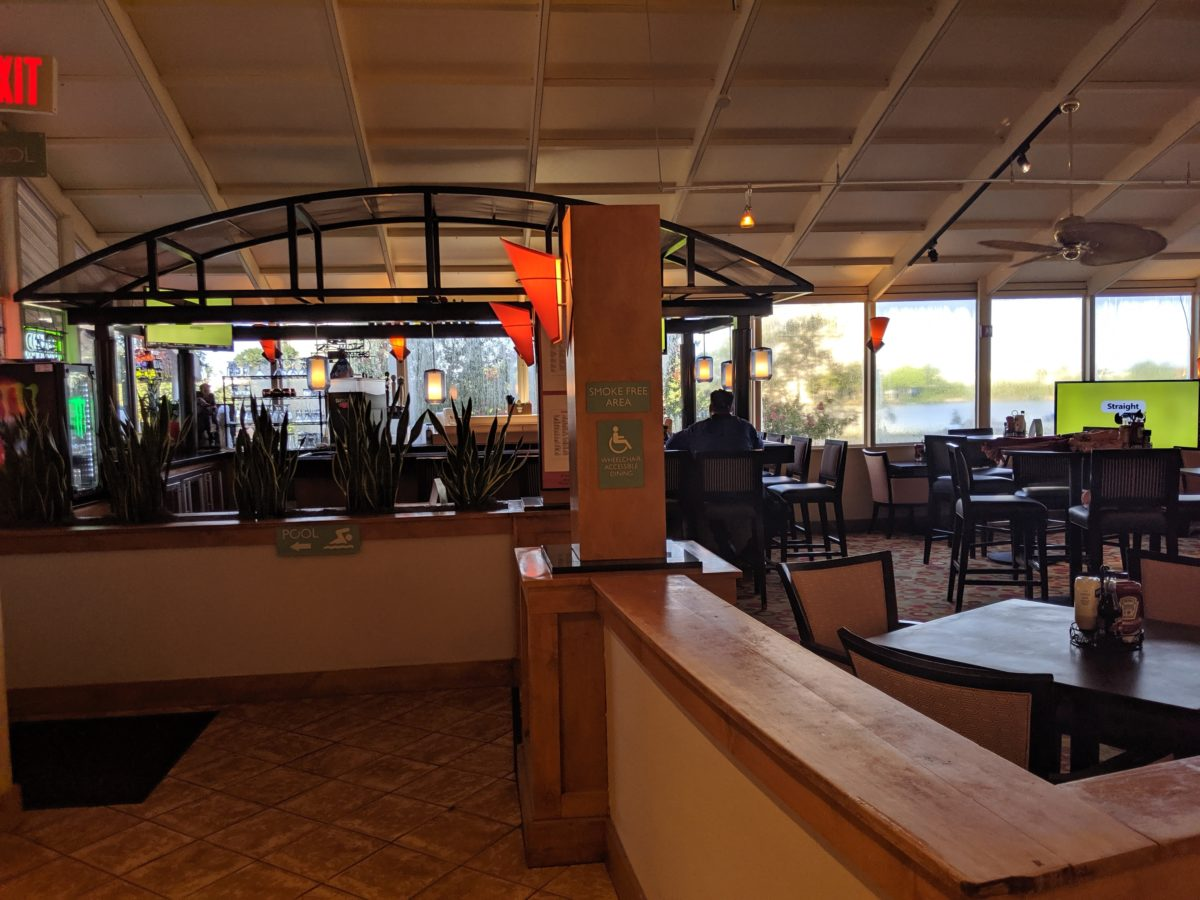 The onsite restaurant at Best Western Lake Buena Vista has a great sitdown restaurant with delicious food