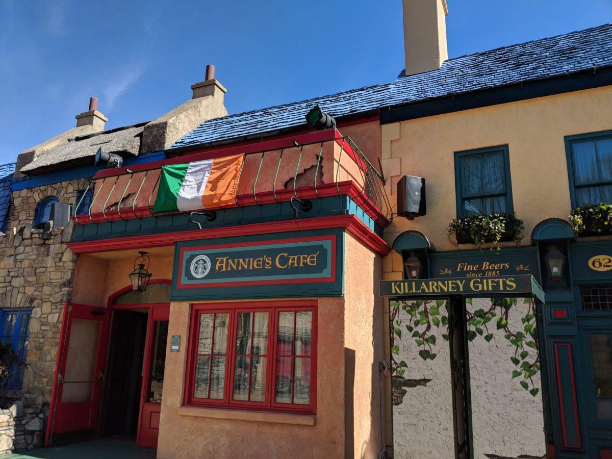 Enjoy Ireland themed rides & food in Killarney at Busch Gardens Williamsburg