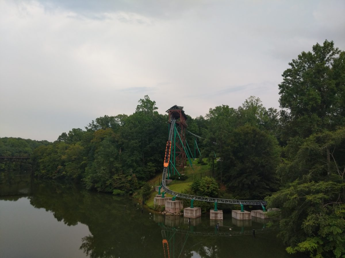 Busch Gardens Williamsburg has great roller coasters like Verbolten pictured here