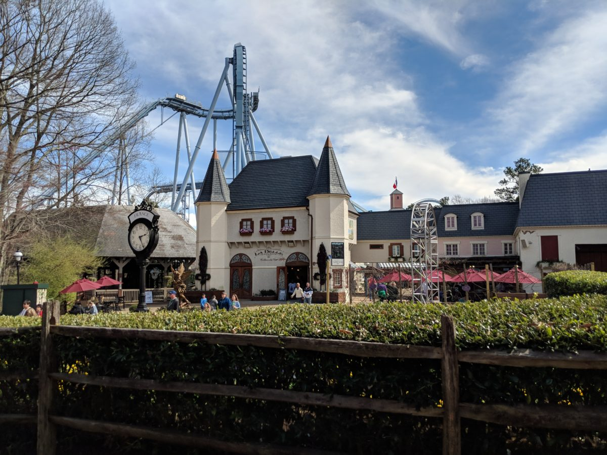 Enjoy French food, attractions & rides at Busch Gardens theme park in Southern Virginia