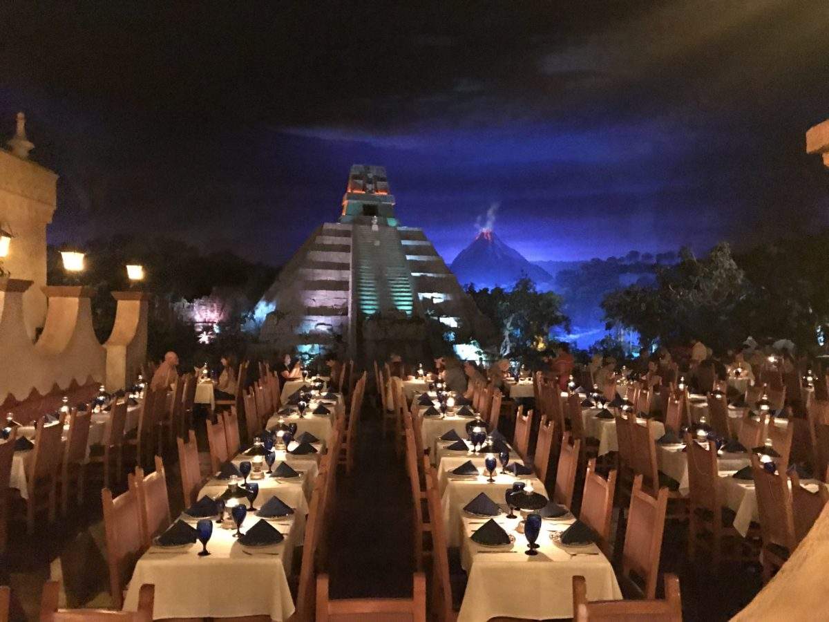 Escape the Florida heat with a nice dinner at the Mexican Pavilion at Disney's EPCOT theme park
