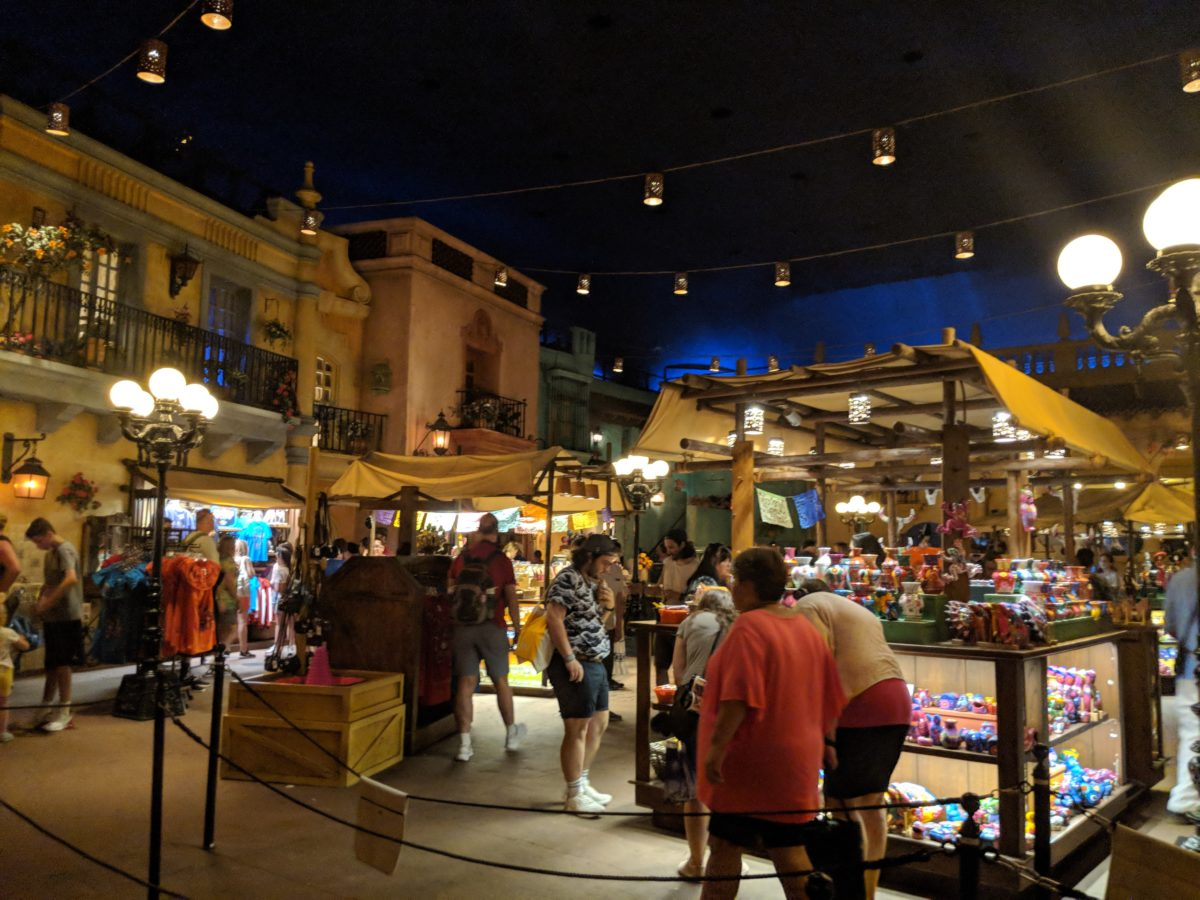Cool during hot Orlando Florida summers at EPCOT by visiting the Mexico Pavilion