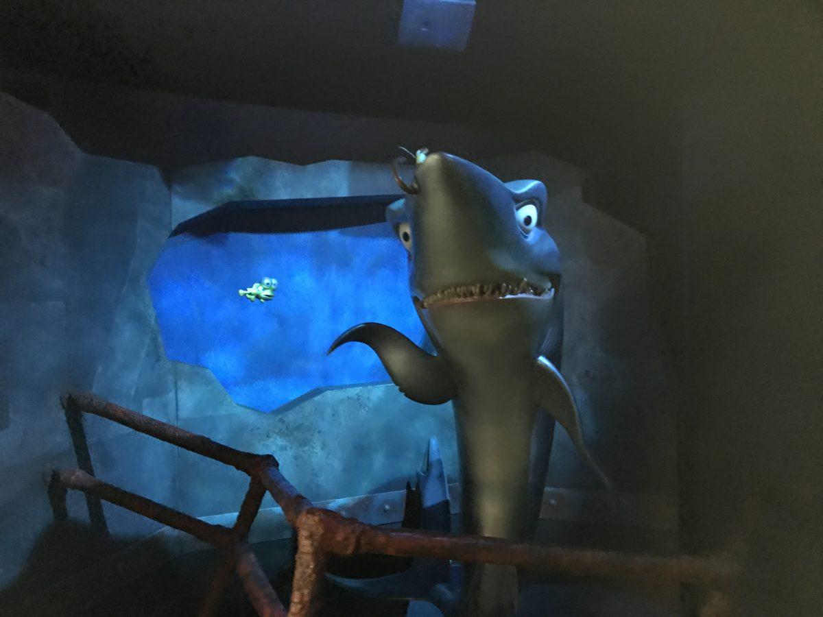 See sharks at EPCOT at Walt Disney World in Orlando Florida