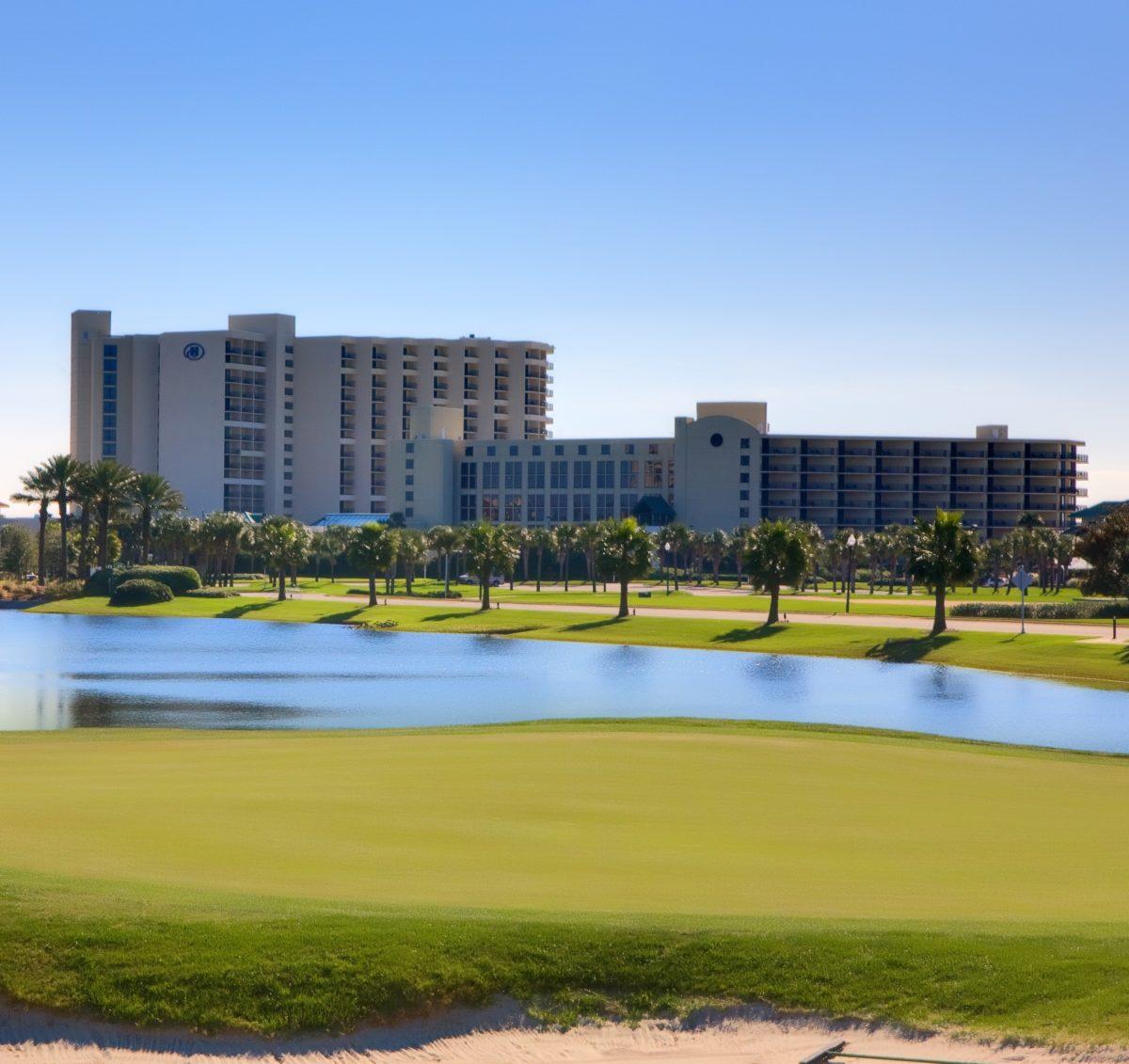 Hilton Sandestin Beach Golf Resort & Spa in Florida has a great golf course