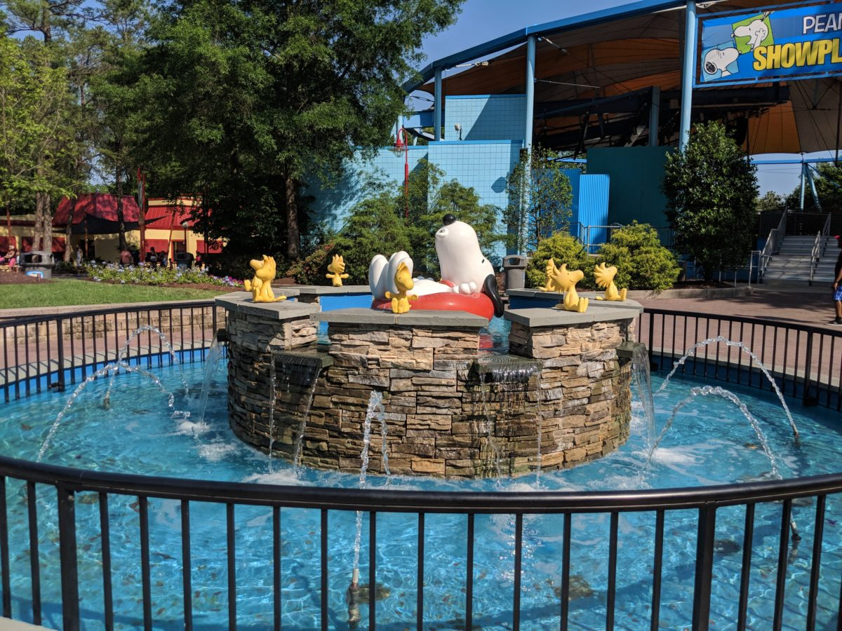 There are plenty of children's rides at Kings Dominion, including rides themed to the Peanuts characters at Camp Snoopy