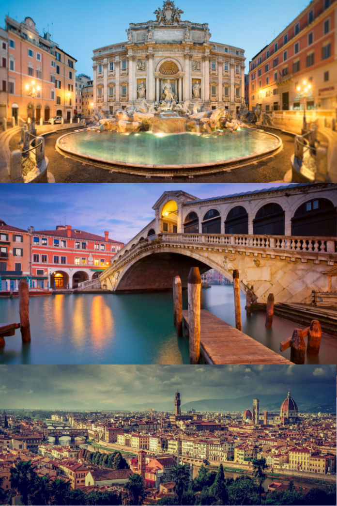 Visit Italy on a budget by booking these great hotels in Venice, Rome & Florence at up to 60% off