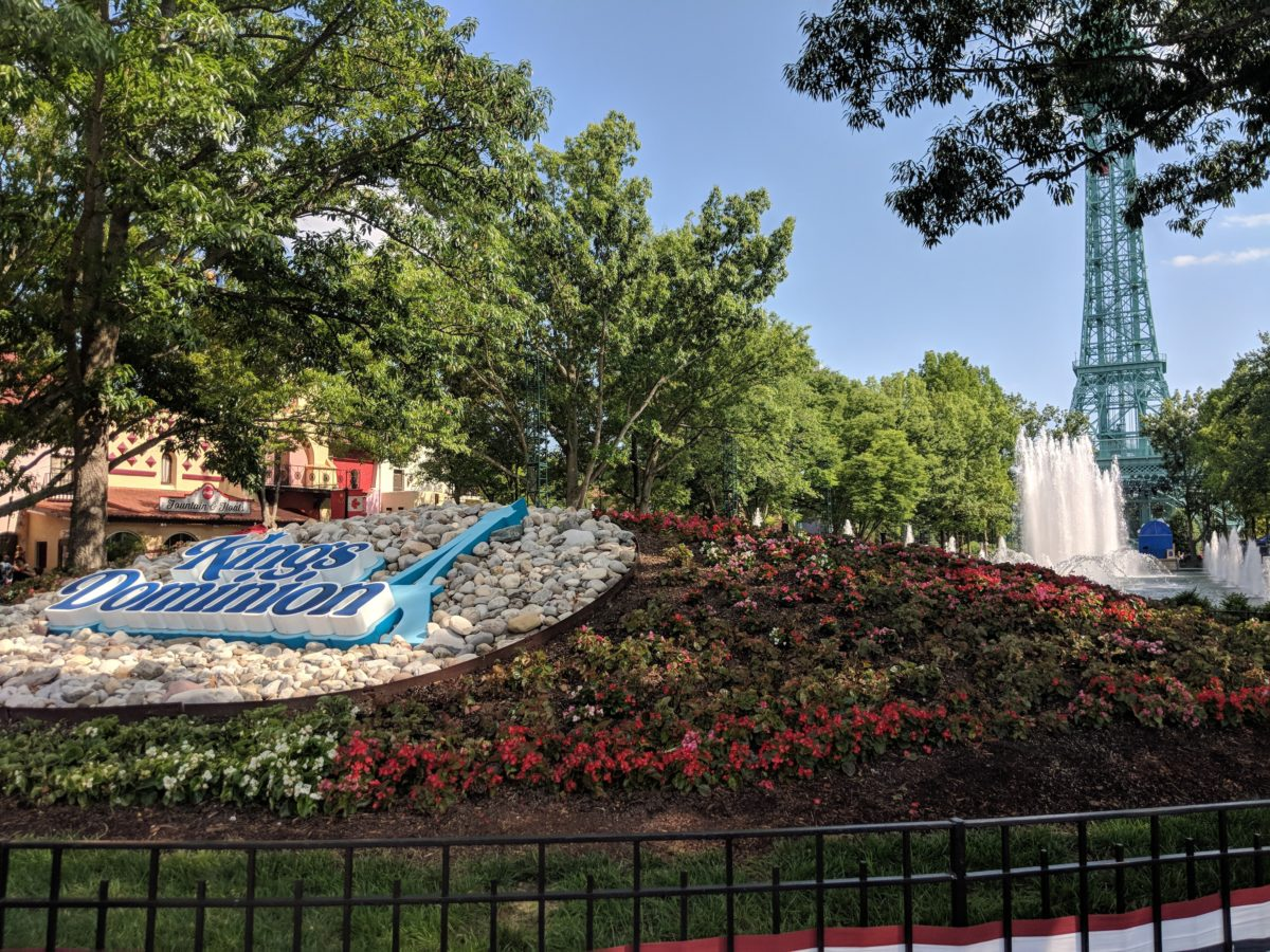 Kings Dominion has a great International Street at the front of the theme park