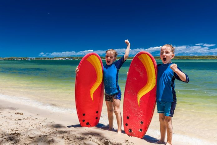 Find out what the best family resorts are in Sunshine Coast for a Queensland beach holiday with kids