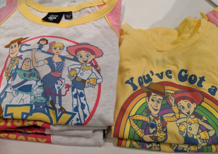 Wear a Toy Story themed shirt to Toy Story Land at DIsneyland Paris or DIsney World by buying one of these 100 Toy Story themed shirts for women, men, children, toddlers