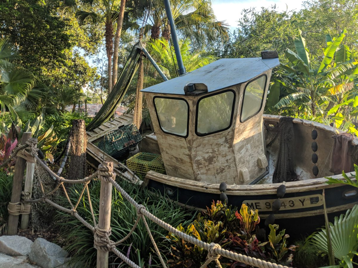 Typhoon Lagoon water park at Walt Disney World Resort has a great backstory & theme